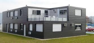 bureau préfabriqué bureaux en batiment modulaire avec bardage