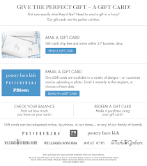 Pottery Barn Kid Promo Code Gift Card Pottery Barn Kids