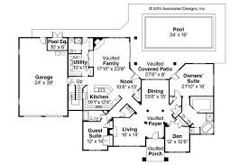 Floor Plans For Large Homes by House Plans Tuscan Villa House Plans Atrium Floor Plans