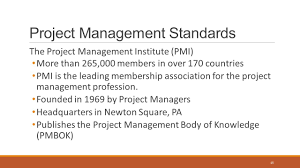 project and portfolio management pm101 the essentials ppt download body of knowledge pmbok project management standards