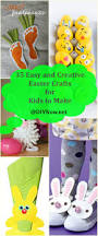 35 easy and creative easter crafts for kids to make u2013 diynow net