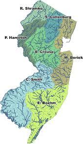 Hamilton Nj Map Njdep Division Of Fish U0026 Wildlife Bureau Of Freshwater Fisheries