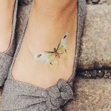 100 small butterfly tattoos on foot 50 summer sandal