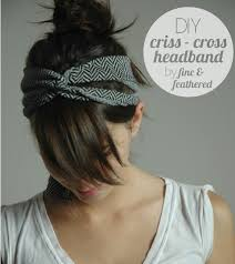 fabric headband an insanely easy and headband going home to roost