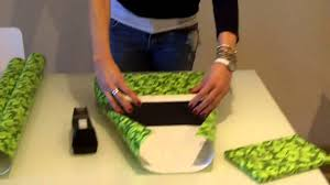 How To Gift Wrap A Present - how to wrap the perfect christmas present the paper youtube