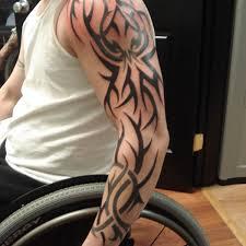 classic sleeve tattoo 3 tribal sleeve tattoo on tattoochief com