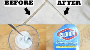 cleaning grout baking soda peroxide vs clorox youtube