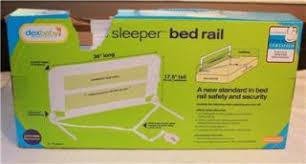 Dexbaby Safe Sleeper Convertible Crib Bed Rail Safety 1st Secure Top Bed Rail Baby Safety Gaurd Sleep Toddler Kid