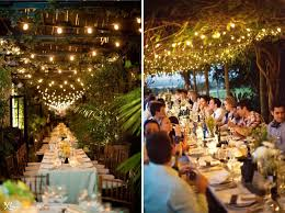 Italian String Lighting by String Lights Outdoor Wedding Reception Picture Pixelmari Com