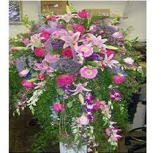 funeral arrangement waterfall funeral arrangement in new city ny bassett flowers