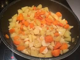 cuisiner le navet poele de legumes navet carottes pomme de terre petites recettes
