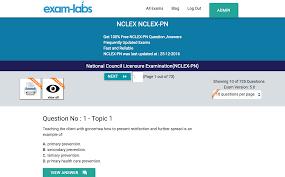 nclex pn nclex real exam questions 100 free exam labs