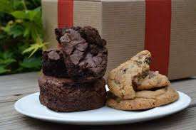 gift cookies large gourmet gift tower with cookies brownies and chocolate