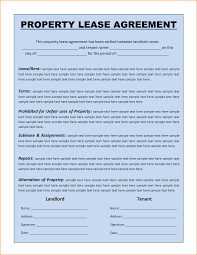 8 rental agreement template free printable receipt