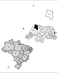Blank Map Of Brazil by Characterization Of Enzymatic Profiles Of Aedes Aegypti Strains