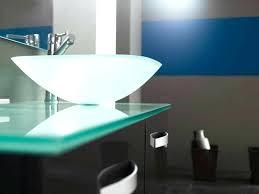 Glass Bathroom Vanity Glass Vanity Tops For Bathrooms Timetotime Me