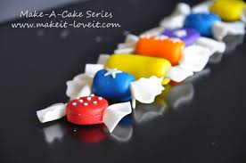How To Make Candy by Make A Cake Series Fondant Candy Make It And Love It