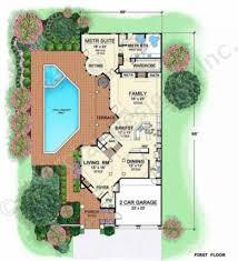 villa house plans villa zeno narrow floor plans style foscari palladio modern