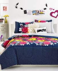 closeout teen vogue isabella floral queen sheet set bed in a