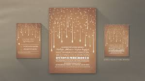 modern wedding invitations read more modern wedding invitation with strings of lights