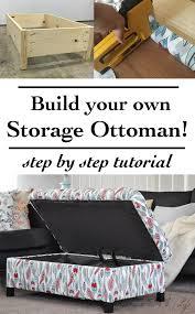 Dvd Storage Ottoman by Diy Upholstered Storage Ottoman Anika U0027s Diy Life