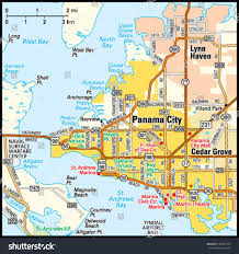 Map Of West Florida by Map Of Florida With Panama City You Can See A Map Of Many Places