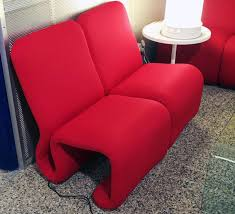 Red Club Chair Etcetera Red Modular Clubchairs By Jan Ekselius Set Of 4 For Sale