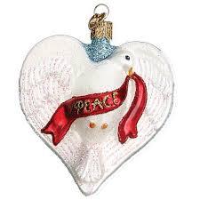 dove ornament world
