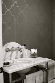 gray trellis wallpaper design ideas