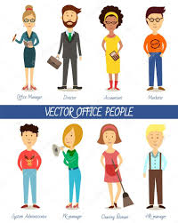 set of diverse business people u2014 stock vector svitlana samokhina