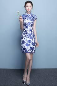 dress congsam modern traditional chinese clothes show cheongsam