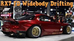 lexus sc300 wide body forza horizon 3 mazda rx7 widebody drifting youtube