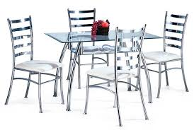 steel dining table set steel dining table freedom to
