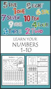 practice number sequence with number maze 1 10 maze worksheets