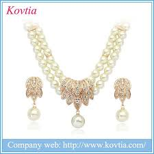 pearl setting necklace images Dubai gold jewelry pearl set dubai gold jewelry pearl set jpg