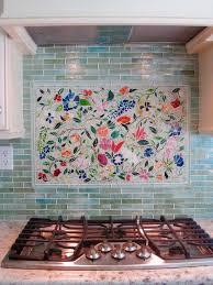mosaic kitchen backsplash creating the kitchen backsplash with mosaic tiles