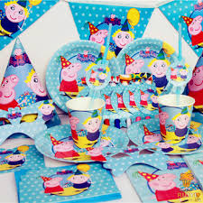 peppa pig party supplies cheap pig birthday supplies find pig birthday supplies deals on
