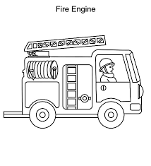 fire truck coloring pages toddlers coloringstar