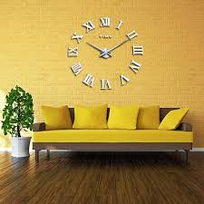 large numeral quartz clock for living room or large wall