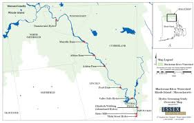 Rhode Island On Map Blackstone River Hydropower Initiative