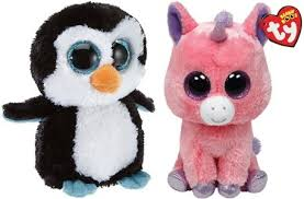 ty beanie waddles penguin boo plush unicorn 5 74 free
