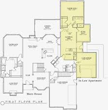 apartments single story house plans with inlaw suite modern