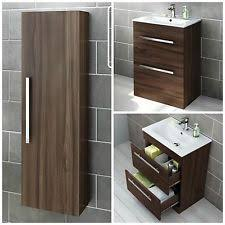 Bathroom Storage Ebay Luxurious Walnut Bathroom Cabinet Ebay At Modern Storage Cabinets