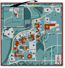 Michigan Campus Map by Mcc Campus Maps Main Campus Parking Guide