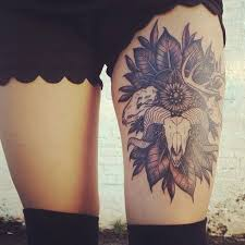 50 best thigh tattoos designs and ideas