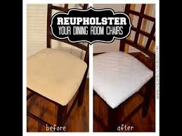 how to upholster a dining room chair reupholstering dining room