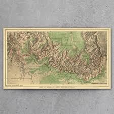 Map Grand Canyon Grand Canyon National Park 1926 Map