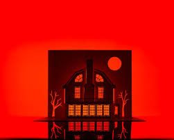 Artist Takes A Serious Stab At Haunted House Horrorgami Haunted