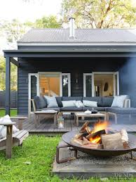 backyard cabin peaceful retreat simple beach house renovation by connor