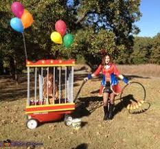 Baby Halloween Costumes Lion Diy Halloween Baby Toddler Lion Costume Circus Wagon Cage